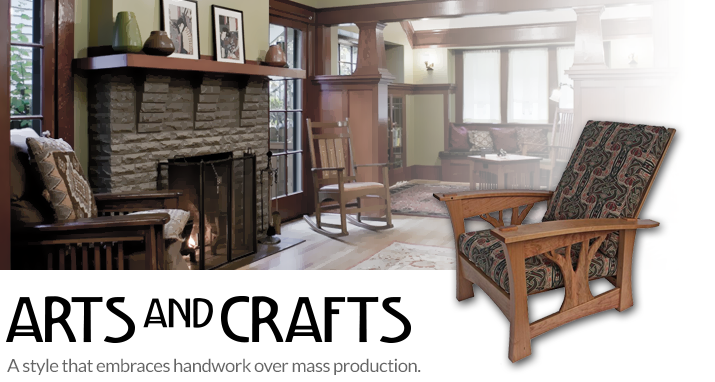 Arts crafts style guide nostalgic warehouse for Arts and crafts style